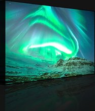 Northern Lights over Iceland - Wrapped Canvas