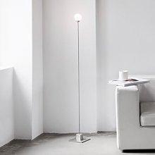 Northern Snowball floor lamp, steel