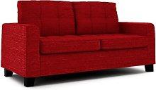 Northville Loveseat Brayden Studio Upholstery: Red