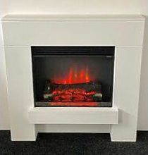Norton Electric Fireplace Fire Heater Heating Real