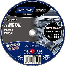 Norton Expert Cutting Disc for Fixed Machines