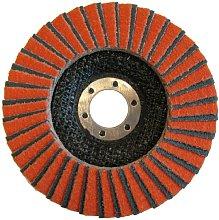 Norton Flap Disc 115x 22mm 60Grit Orange