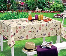 NORTUFTING Oval Tablecloth tcherbier 1.40 x