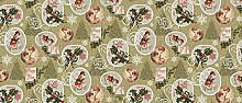 NORTUFTING Oval Tablecloth tcnormandiebleu 1.40 x