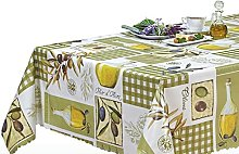 NORTUFTING Oval Tablecloth tcpuget 1.40 x 3.00 m