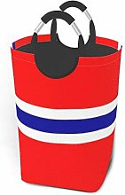 Norwegian Flag 22.7 Inches Tall Large Storage