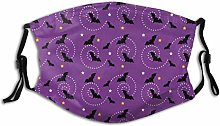 Nose Shield Purple Halloween Personalized Face