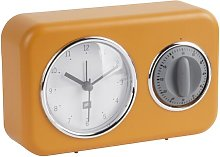 Nostalgia Tabletop Clock Symple Stuff Colour: