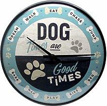 Nostalgic-Art 51089 Animal Club - Dog Times, Wall