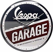 Nostalgic-Art 51090 Vespa - Garage, Wall Clock 31cm
