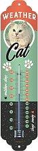 Nostalgic-Art 80319 Animal Club - Weather Cat,