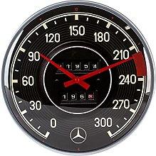 Nostalgic-Art Mercedes-Benz Retro Wall Clock -