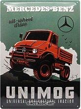 Nostalgic-Art Retro Tin Sign – Mercedes-Benz –