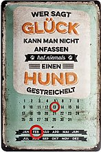 Nostalgic-Art Retro Tin Sign – PfotenSchild –
