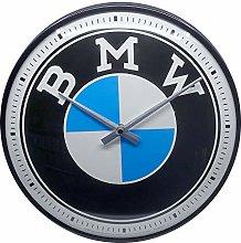Nostalgic-Art, Retro Wall Clock BMW – Logo –