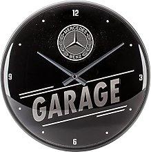 Nostalgic-Art, Retro Wall Clock Mercedes-Benz