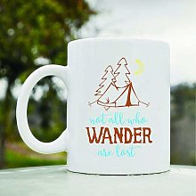 Not All who Wander are Lost Camping Camp Tent