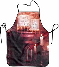 Not Applicable Garden Apron Dark Occult Witch