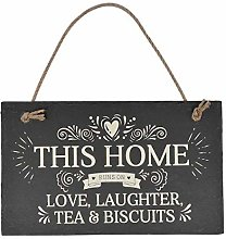 Not Branded 15x30cmFunny Sign This Home Runs On