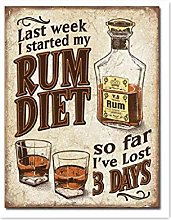 not I Started My Rum Diet I've Lost 3 Days