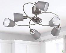 Note ceiling light 6-bulb