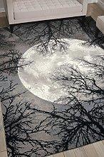 Nourison TWI17 Twilight Modern/Contemporary Moon