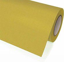 Nouveau Fabric Tablecloth Roll 1,18 x 25 yellow