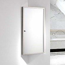 NOVA Bathroom Corner Mirror Cabinet Make Up