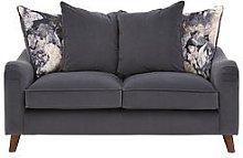 Nova Fabric 2 Seater Scatter Back Sofa