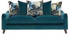 Nova Fabric 3 Seater Scatter Back Sofa