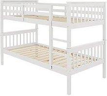 Novara Bunk Bed - White
