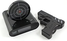Novel Laser Target Panel Handgun Gun Alarm Waken