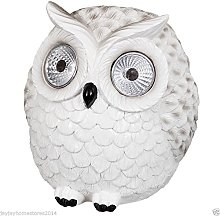 Novelty Garden Decoration Owl with Solar Ultra