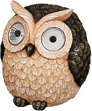 Novelty Garden Decoration Owl with ultra bright