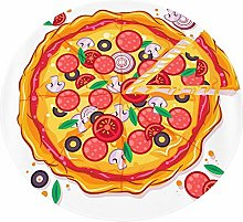 Novelty Pizza Blanket Throw Wrap for Bed Soft