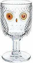 Novelty Tumbler Shot Glasses, Wine Glasses, Owl