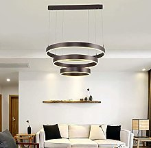 Novely Chandeliers- 113W Led Chandelier Round