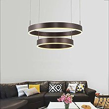 Novely Chandeliers- 63W Led Pendant Lamp Round