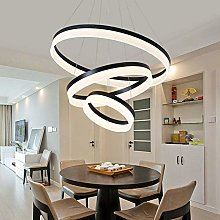 Novely Chandeliers- Led Chandelier 3 Ring Round