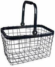 Novita - Market Basket Navy - Wire Basket