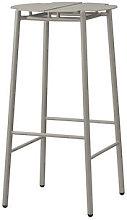 Novo Bar stool - / H 75 cm - Metal by AYTM Beige