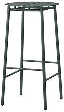 Novo Bar stool - / H 75 cm - Metal by AYTM Green