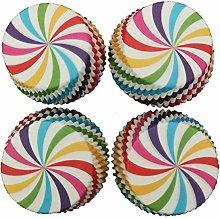Nowakk 100pcs Mini cupcake liner baking cup paper