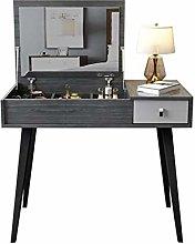 noyydh Vanity Table Set, Mini Computer Desk, Small