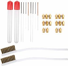Nozzle Cleaning Brush Kit, Durable High Efficiency