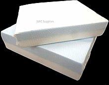 NRC Upholstery Stockinette White Tubular Cushion