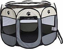 Nrew Pet Fence Dog Kennel Folding Fence Oxford