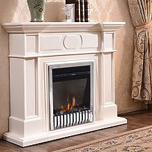 NRG 2KW Inset Electric Fireplace Heater with Flame