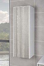 NRG Ash Tall Cupboard Storage Unit Wall Hung
