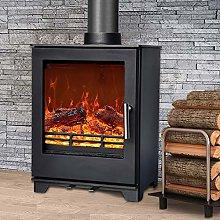 NRG Defra 5KW Multifuel Woodburning Stove Eco